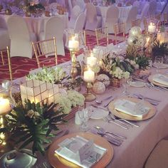 Our Stylish Filipiniana Tablescape from #BukoKitchieWedding #butchie2015 #davesandovaleventstylist