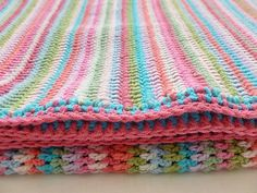 This might make a nice baby blanket.