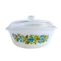 Blueberry Cobbler Casserole Dish | dotandbo.com