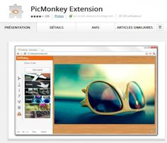 Intégrer PicMonkey dans Chrome |