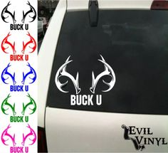 Shadows Hunt Grey Sticker,Decal,Boat,Stag,Shooting,Truck,Bow Hunt,PVC Vinyl x2