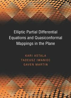 Pin this advances in phase space analysis of partial differential elliptic partial differential equations and quasiconformal mappings in the plane pdf fandeluxe Images