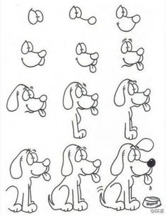 Simple step-by-step drawing lessons Drawing Lessons, Drawing Techniques, Drawing Tips, Drawing Sketches, Art Lessons, Painting & Drawing, Sketching, Drawing Ideas, Doodle Drawings