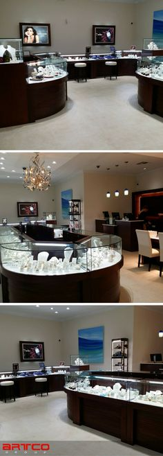 Blue Marlin Jewelers.  Manufacture & Design of Store Fixtures by Artco Group.  #retaildesign #storedesign #Jewelers #retaildisplay