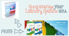 Revolutionize Your Laundry Routine! + FREE #natural laundry detergent and an AMAZING deal! (ends 4/28!) http://thehumbledhomemaker.com