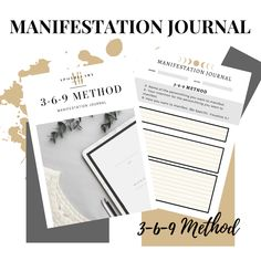 Manifestation Journal PDF (Download)