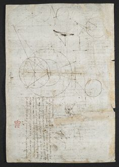f. 95v Diagrams and sketches
