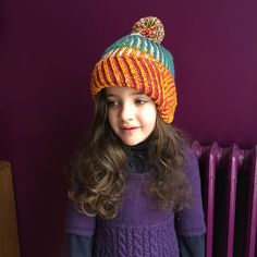 Ravelry: Project Gallery for Askews Me Hat pattern by Stephen West