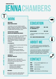 my cv resume by michelle makar parker via behance resume pinterest behance cv design and cv ideas