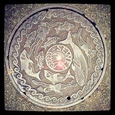 Seattle, WA manhole cover