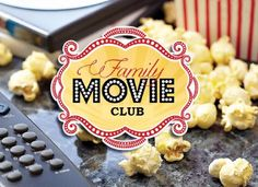 Family Movie Club: Monthly subscription service that includes a great classic dvd from the 80's or 90's, themed candy & treats, popcorn & fun popcorn bags, and a small movie themed surprise! All delivered right to your front door.