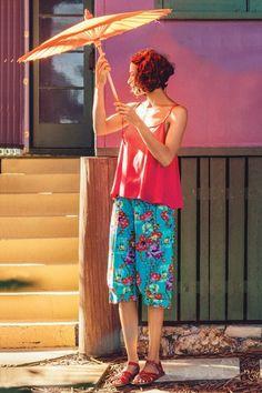 Boom Shankar 50s dresses Jada Printed Shorts - Womens Shorts - Birdsnest Online Fashion Store