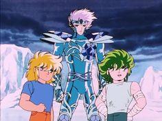 saint seiya - poseidon saga (Cygnus Hyoga, Crystal Saint, Kraken Isaac)