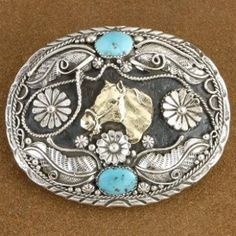 Native American Jewelry | Navajo Handcrafted belt buckles, Native American Horse Belt Buckle Verna Blackgoat Traditional, http://www.nativeamericanstuff.net/Navajo%20Handcrafted%20Belt%20Buckles.htm