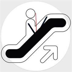 Yürüyen Merdiven Kendin Tasarla - Duvar Saati 27cm