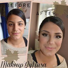 Prom makeup look - MakeupByNusa