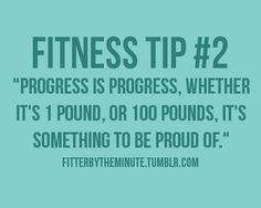 All about progress, not perfection.  #fitness