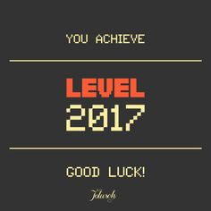 Good luck in 2017
