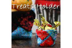 DIY Art & Crafts : DIY Treats Holder