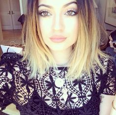 Kylie Jenner #ombre #hair #lace #hipster