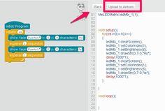 Upload to Arduino para usar o mando IR.