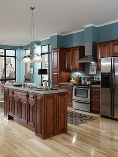 B.Jorgsen & Co. Buckingham Sienna Rope - kitchen cabinets - other metro - by Cabinets To Go