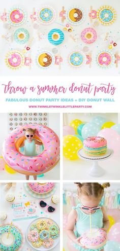 Throw the ultimate donut party and create your own donut wall!
