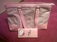 Hello kitty bag and purse , cute