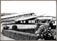 Tenerife - Aeropuerto Los Rodeos año 1959 #canariasantigua #blancoynegro #fotosdelpasado #fotosdelrecuerdo #recuerdosdelpasado #fotosdecanariasantigua #islascanarias #tenerifesenderos
