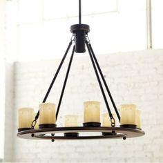 exterior pendant chandelier lighting transitional | Carson Outdoor Chandelier transitional-outdoor-lighting