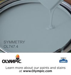 SYMMETRY OL747.4 is a part of the aquas collection by Olympic® Paint.