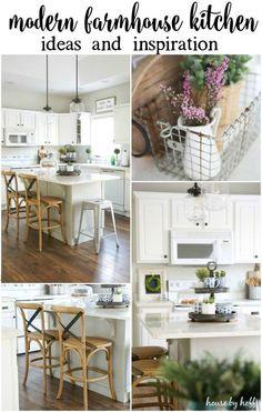 Progress on My Modern Farmhouse Kitchen - House by Hoff