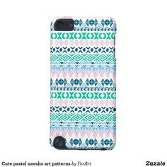 Cute pastel navaho art patterns iPod Touch 5G case