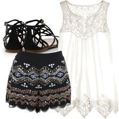 """""""evening out"""" by softballbrit on Polyvore"""