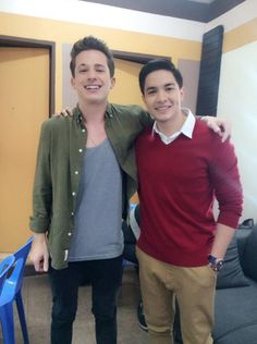 2 Baes: Charlie Puth and Alden Richards Alden Richards, Jadine, Charlie Puth, Perfect People, Boyfriend Goals, I Like Him, 24 Years Old, Eye Candy, Daddy