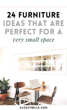 If you live in a very small space such as a college dorm or condo, a lot of times you're just not going to have enough space for all of the furniture pieces that you want. Here are over 20 compact furniture ideas that will help maximize your space in a small apartment - all without sacrificing functionality. | moving out | independence | college essentials | college dorm | room essentials | small house #furniture #furnitureideas #smallroomdesign #homedecor #HomeDecorNearMe Small Apartment Design, Small Room Design, Design Your Home, Small Apartments, Small Spaces, New Home Essentials, First Apartment Essentials, College Essentials, Room Essentials