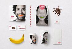 Elles Menu Cards Bags Coffee Cup Design