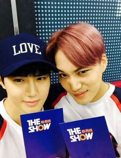 Suho and Kai Love Me Right