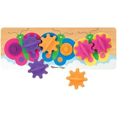 Melissa & Doug Butterfly Gear Toy
