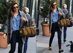 Celebrity Street Style: Miranda Kerr
