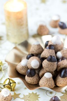 shortbread shared by Ʈђἰʂ Iᵴɲ'ʈ ᙢᶓ on We Heart It Alsace, Biscuit Cookies, Shortbread, Macarons, Vegan Vegetarian, Muffins, Bakery, Deserts, Xmas