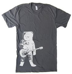 Hey, I found this really awesome Etsy listing at http://www.etsy.com/listing/72382560/mens-astronaut-guitar-outer-space-t