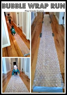Turn your left over Enviro Bubble into a fun running game for kids | Family Moving Tips