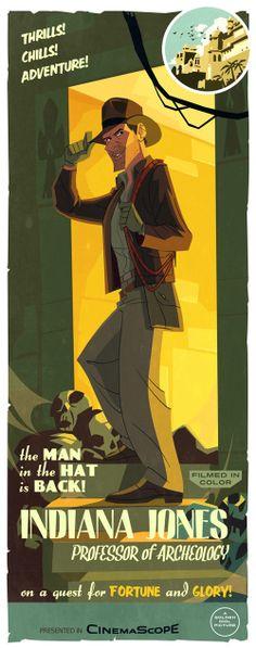 Indiana Jones - fan art