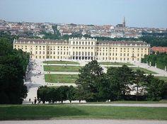 Vienna is wonderful - this is the Schonbrunn