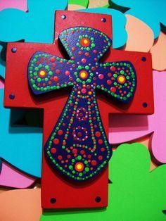 Cruces De Madera Estilo Papel Picado - Google Search