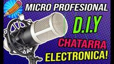 """COMO HACER UN MICRÓFONO PROFESIONAL+ FILTRO ANTIPOP CON """"CHATARRA"""" ELECT... Hacks"""