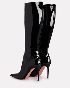 Dr Shoes, Shoes Heels Pumps, Me Too Shoes, Patent Leather Boots, Aesthetic Shoes, Sexy Boots, High Heel Boots, Fashion Shoes, Catwoman