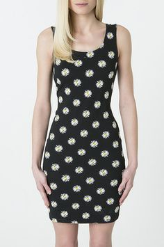 Daisy print body con dress #musthave #TALLYWEiJL