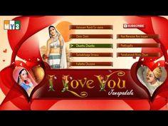 I Love You | Janapadalu | Folk Songs | Juke Box - YouTube Dj Download, Jukebox, I Love You, Broadway Shows, Folk, Songs, Youtube, Te Amo, Je T'aime